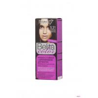 """Краска стойкая с витаминами для волос серии """"Belita сolor"""" № 5.31 Горячий шоколад"""