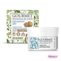 Крем дневной 35+ гладкость кожи оптимальное увлажнение экстракт белого трюфеля GOURMET