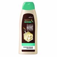 """Milk-Шампунь """"Реставрация волос без утяжеления"""" для всех типов волос, MILK протеин"""