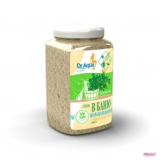 Соль морская природная для бани (Мята)  850 гр
