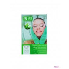 Увлажняющие гелевые перчатки с алоэ вера , цвет зеленый