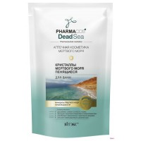 Кристаллы Мертвого моря пенящиеся для ванн PHARMACOS DEAD SEA 500 гр
