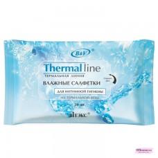 """Влажные салфетки для интимной гигиены на термальной воде """"THERMAI LINE"""" 15 шт"""
