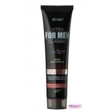 VITEX FOR MEN CLASSIC Крем для бритья для сухой и чувствительной кожи,100мл New